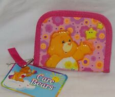 NEW WITH TAG CARE BEARS PINK COIN WALLET