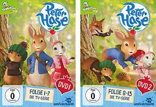 2 DVDs * PETER HASE - DVD 1 + 2 IM SET - TV-SERIE  # NEU OVP §