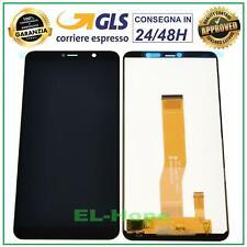 DISPLAY LCD WIKO Y80 4G LTE W-V720 TOUCH SCREEN VETRO SCHERMO MONITOR NERO