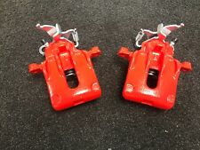 FORD FOCUS ST170 MK1 2002-2004 REAR BRAKE CALIPERS LH AND RH SIDE RED