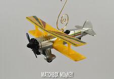 Stunt Biplane Airplane Aircraft Custom Christmas Ornament 1/100 Plane Race