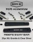 REEF'S RC Sway Bar 7075 Hard Gray Aluminum Kit Granite Axial RR10 Bombers 17