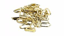 10-40mm 50pcs Oval Brass Eyelets Washers for Buckle Strap Handbags