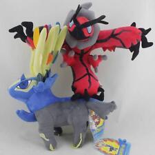 "2pcs/Lot Legendary Pokemon 11"" Yveltal Xerneas Plush Toy Cartoon Stuffed Animal"