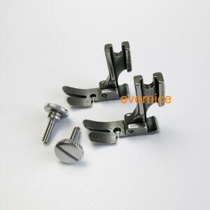 2 Pcs Zipper Lace Foot High Shank For Pfaff: 1200 Series Grand Quilter 1197 1211