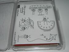 Stampin Up Ladybug Picnic Stamp Set of 5 Watermelon Life is a Picnic Flower Bugs
