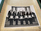 Shriners Group Black And White Photo, 1976??