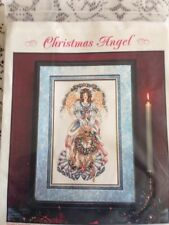 Christmas Angel Counted Cross stitch Kit, Stoney Creek 1996 #SCC04