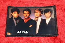JAPAN DAVID SYLVIAN OLD SEW ON GLOSSY PHOTO PATCH FROM THE 1980's  OLD STOCK