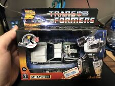 *NEW & SEALED* Numbered Transformers & Back to the Future Gigawatt Action Figure