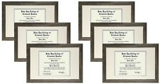 STUDIO 500 VALUE 6-PACK~11x17-inch Distressed Grey Contemporary Picture Frames