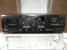 Jvc Td-W354Bk Double Cassette Deck Player Recorder Tested See Video