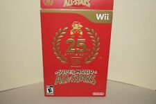 Super Mario Bros. All-Stars 25th Anniversary Empty Cardboard Box Sleeve