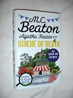 Agatha Rasin and the Quiche of Death By M.C Beaton