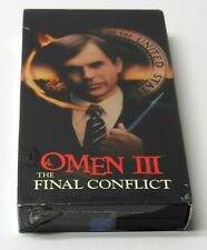 The Omen Iii The Final Conflict 1981 Vhs Horror New Sealed Vg Cond. Fast Ship 3