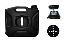 Kraftstofftankkanister schwarz Tank 5 L Kanister für Motorrad Quad und ATV´s Set