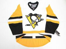 PITTSBURGH PENGUINS AUTHENTIC AWAY WHITE REEBOK EDGE 2.0 7287 HOCKEY JERSEY