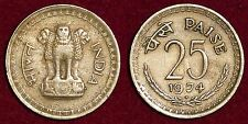 INDIA Inde भारत  25 paise 1974