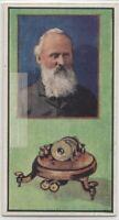 Lord Kelvin Mirror Galvanometer Atlantic Cable  Vintage Trade Ad Card