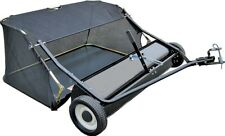 """NEW 38"""" LAWN SWEEPER leaf TOW BEHIND ride on mower catcher ATV"""