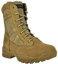 """Smith & Wesson Breach 2.0 Men's Tactical 8"""" Side-Zip Boots - Coyote"""