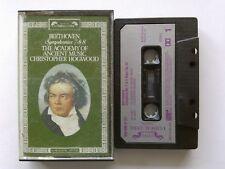 Beethoven Symphony 7 & 8 Academy Of Ancient Music C. Hogwood 1989 Cassette (C26)