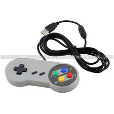 Wired USB SNES Controller Retro Gaming Joystick Joypad Gamepad For Nintendo PC