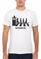Gallifrey Road Inspired Dr Who Funny Men Women Vest Tank Top Unisex T Shirt 1801