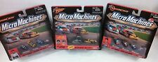 Lot 3 1999 Dale Earnhardt Jeff Gordon Winners Circle Micro Machines NEW