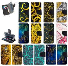 Flip Cover für ASUS ZENFONE Handy Tasche Schutz Hülle Etui Wallet ORNAMENTE