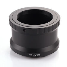 Adapter Mount Ring T Mount Telescope Lens to Camera Sony E-Mount NEX 3 5 6 7 A7S