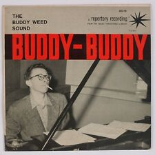 """BUDDY WEED: The Sound SESAC Repertory 7"""" Jazz EP Space Age"""