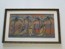 ANITA DELANO COLLECTION PAINTING ANTIQUE EARLY CALIFORNIA MODERNIST POINTILLIST