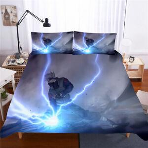 Naruto Hatake Kakashi Twin/Full/Queen/King Bed Duvet/Quilt Cover Set Pillowcase