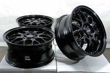 "16"" Wheels Neon Miata Cooper Galant Lancer Scion XA XB Corolla Civic Black Rims"