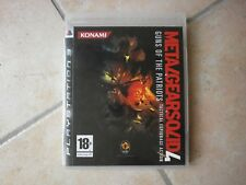 Jeu PS3 METAL GEAR SOLID 4 : Guns of the Patriots pour console Playstation 3