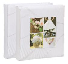 2x Fotoalbum Wedding II 30x30 cm 100 weiße Seiten Hochzeit Foto Album Buchalbum
