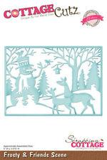 Cottage Cutz Elites Die - Frosty & Friends Scene - Christmas - CCE-300 - SALE