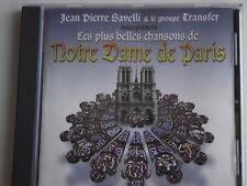 Les Plus Belles Chansons de Notre Dame de Paris. CD Album. (L07)