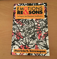 Emotions & Reasons: An Inquiry into Emotional Justification 9780415908290