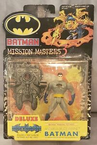 Anti-Virus Bruce Wayne Batman MissionMasters3Deluxe Hasbro 2000 Read Description