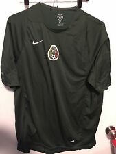 Men's Vintage Nike Total 90 Dark Green Mexico World Cup Soccer Jersey Sz Large