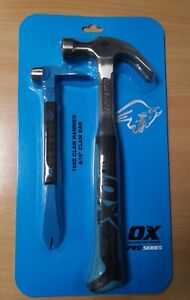 OX PRO SERIES CLAW HAMMER AND CLAW BAR SET