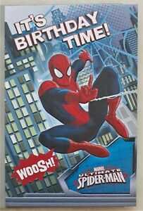 It's Birthday time Marvel Spiderman Limited edition 12x18cm