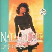 """Natalie Cole(12"""" Vinyl)I Live For Your Love-EMI-12 MT 31-UK-1987-VG/VG"""