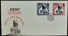 Jersey 1995 Peace & Freedom FDC First Day Cover #C52500