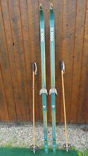 старинные деревянные лыжи Ebay
