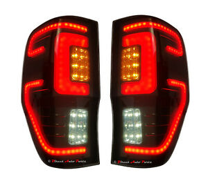 *LED* HIGH PERFORMANCE TAIL LIGHT LAMP (SMOKED) for FORD RANGER PX 2011 - 2020