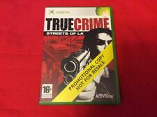 TRUE CRIME STREETS OF LA - XBOX - versione promo - RARO!