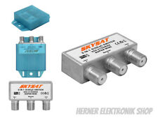 Wetterschutz Switch DiSEqC - 2 x SAT LNB WETTERSCHUTZ DSG 950 - 2150MHZ
